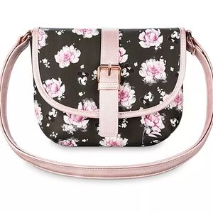 Minnie Mouse Floral Saddle Bag by Loungefly